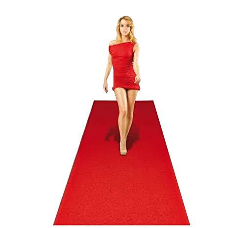 Folat- Alfombra Roja 4.5 mx 50 cm, Color rojo, 50 cm x 450 cm (61198)