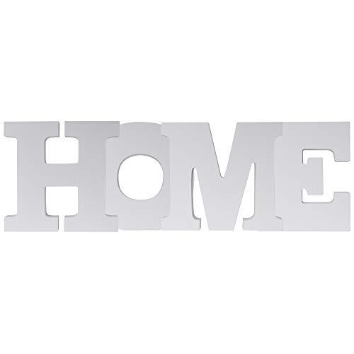 Letras para decoración 'HOME', de elbmöbel