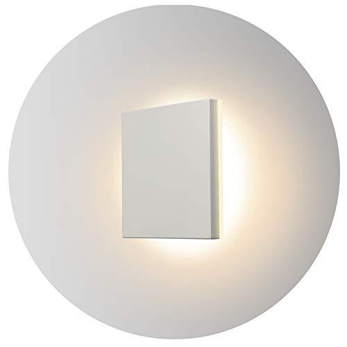 Topmo-plus 8W Lámpara de pared LED OSRAM SMD Aplique de pared Diseño de Bañadores para interior / exterior a prueba de agua IP65 Spotlight living / terraza / jardín 15CM (blanco / blanco cálido)