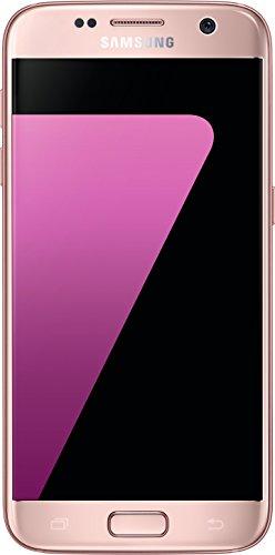 Samsung Galaxy S7, Smartphone libre (5.1'', 4GB RAM, 32GB, 12MP) [Versión alemana: No incluye Samsung Pay ni acceso a promociones Samsung Members], color Rosa