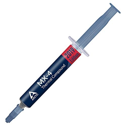 ARCTIC MX-4 (2 g) - Compuesto térmico de alto rendimiento de micropartículas de carbono, pasta térmica para cualquier ventilador de CPU