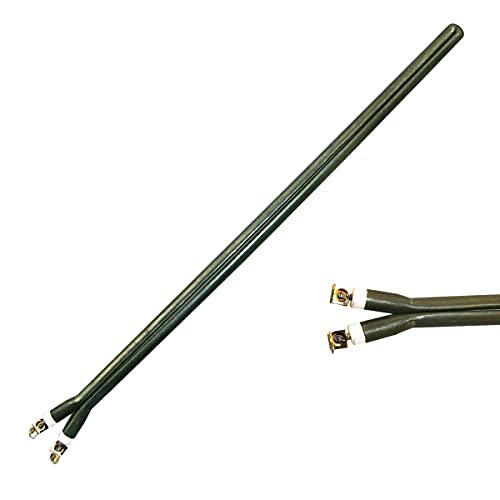 Resistencia termo eléctrico 800W, tipo pinza monoblock, recambio compatible con Fagor, Edesa, Aspes, Aparici, Otsein, Negarra, Corbero, Weatinghoue, Domusa y grandes marcas. Largo 340mm. (800W)