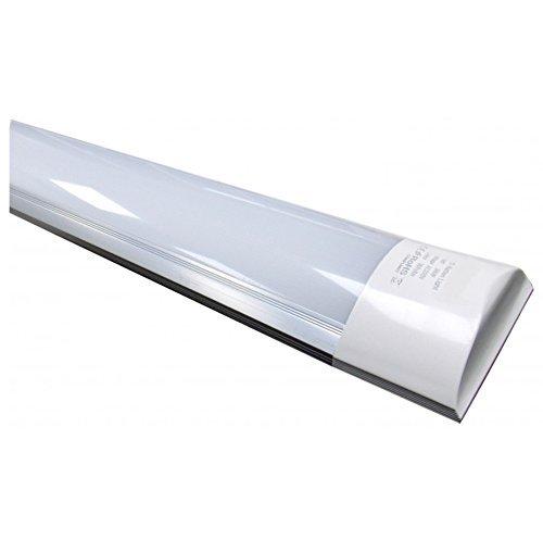 Luminaria Lámpara de techo LED 120cm. 40w. Color Blanco Frio (6500K). 3300 Lumenes. Tubo LED 120cm T8 Integrado. A++