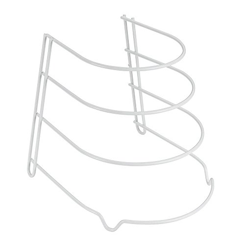 Metaltex Sierra Sartenero 4 Alturas, Blanco, 25 X 27 x 23 cm