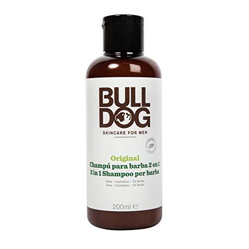 Bulldog - Champú y Acondicionador para Barba 2 en 1 Original - 200ml