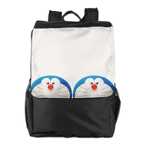 Backpack,Mochila Linda Do-RAE-Mon, Mochilas Ligeras De Hombro para Viajes Al Aire Libre,40cm(W) x48cm(H)