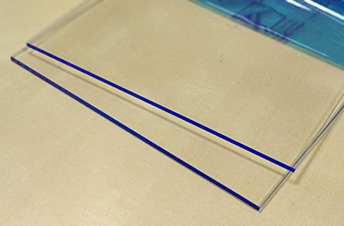 Laserplast Estante universal para frigorífico cortado a medida en metacrilato 8 mm - Indique su medida - Balda Repisa PMMA transparente - Valido todos modelos y marcas