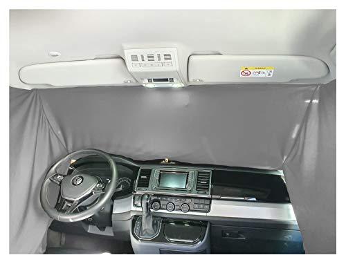 Cortina para parabrisas delantero de camping, compatible con Ford Tourneo, Transit Courier a partir de 2014, FB: F_GR