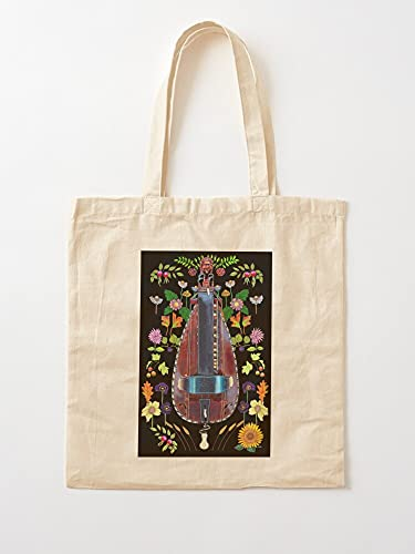 Genérico Luthiers Hinks Vielle A Zanfona Drehleier Jane Rueda Music Pimpard Gurdy Hurdy | Bolsas de lona con asas, bolsas de la compra de algodón duradero