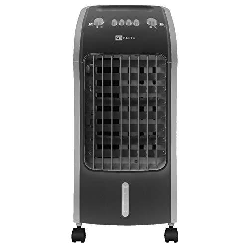 Novohogar Acondicionador de Aire Frío Portátil Q7 Pure 3 en 1. Climatizador, Humidificador y Purificador - Esterilizador de Aire. Bajo Consumo (80W). 3 Velocidades. Silencioso y Fácil de Usar