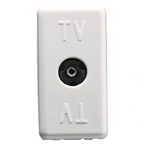 Gewiss 20 System - Toma TV.Directa Resistencia