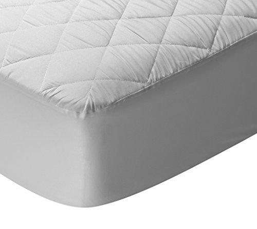 Pikolin Home - Protector de colchón, cubre colchón acolchado, impermeable, antiácaros, 80 x 190/200 cm - Cama 80 (Todas las medidas)