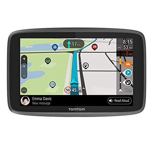 TomTom GO Camper, GPS para caravana, 6 Pulgadas, con Actualizaciones Mediante Wi-Fi, PDI para Caravanas y Autocaravanas, Mapas de Todo el Mundo, Tomtom Road Trips
