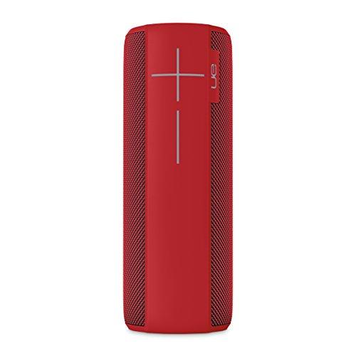 Ultimate Ears Megaboom - Altavoz portátil (Bluetooth, 360 grados, Resistente al agua, 20 horas de batería, resistente a golpes), Rojo