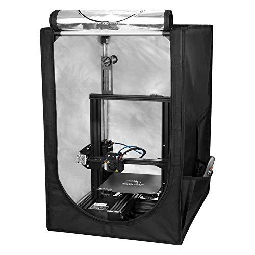Creality Impresora 3D Cubierta protectora insonorizada a temperatura constante a prueba de polvo para Ender 3 Ender 3 pro