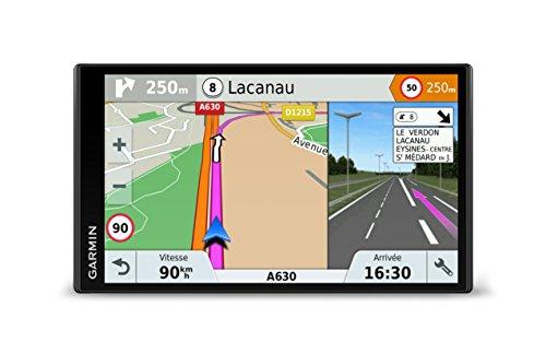 Garmin DriveSmart 61 Full EU LMT-S - Navegador GPS con mapas de por vida y tráfico vía móvil (pantalla de 6', mapa Europa completo) (Reacondicionado)