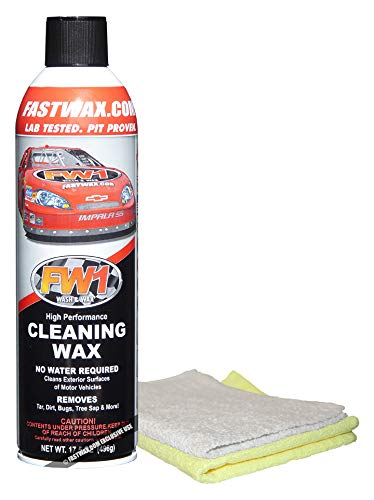 FW1 Cleaning Waterless Wash & Wax with Carnauba Car Wax by FW1