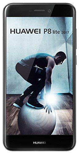 Huawei P8 Lite - Smartphone libre de 5.2' IPS LCD (3 GB RAM, 16 GB, cámara 12 MP, Android 7.0), Versión 2017, color negro