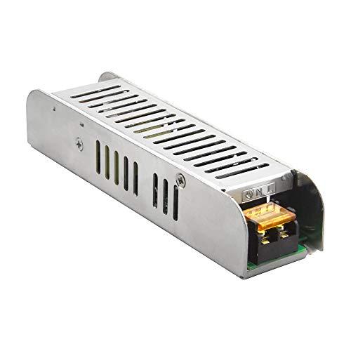 Bonlux 120W Profesional Fuente de Alimentación Transformador AC 220V a DC 12V para LED Tira
