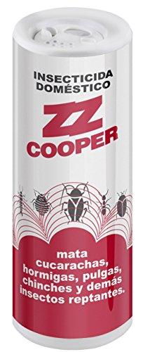 COOPER ZZ insecticida doméstico en polvo bote 200 gr
