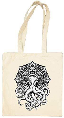 Cthulhu Elder God Eldritch Horror Graphic Bolsa Tote Blanca