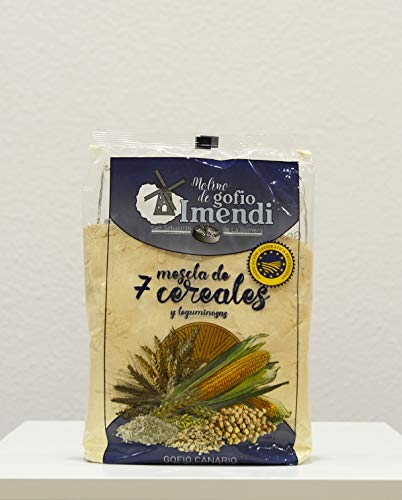 Gofio IMENDI Mezcla 7 Cereales 1 Kg. Producto Islas Canarias.