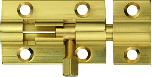 Abus SR40 M B - Pestillo de latón acabado en latón 40mm blister