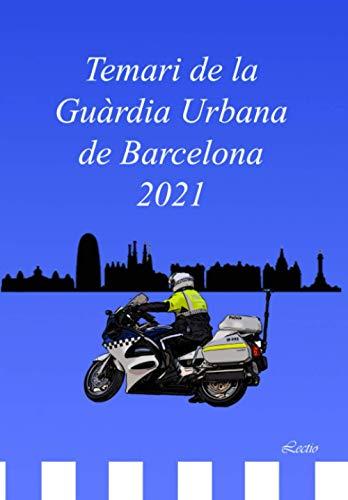 Temari de la Guàrdia Urbana de Barcelona 2021