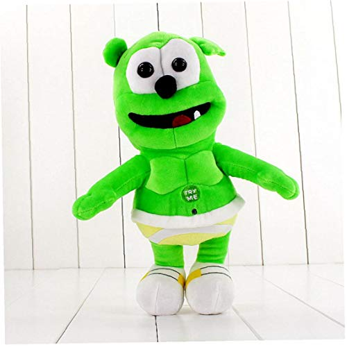 PiniceCore 30cm Gummy Bear Voice Pet Funny Toys Sounding Plush Toy Best Gift for Kids