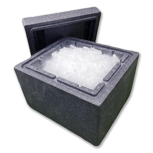muyFrio - Hielo Seco | Nevera de Hielo Seco Pellets 10kg CO2 Larga Duración, Fiestas, Humo, Bebidas, Alimentos, Hostelería, Transporte, Congelado,…