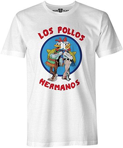 More T Vicar Los Pollos - Hombres T Shirt