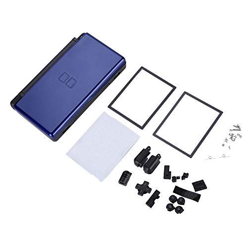 T osuny Piezas de reparación Completas para Nintendo DS Lite, Carcasa de Carcasa de Consola de Juegos portátil, Kit de reemplazo de máquina de Juego para Nuevo NDSL con Apariencia compacta(Azul)