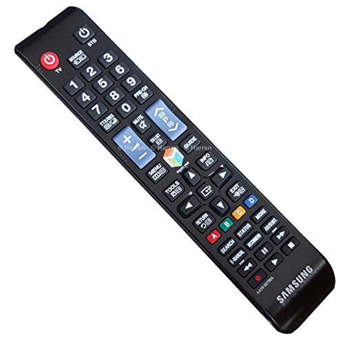 SAMSUNG AA59-00790A - Mando a Distancia de Repuesto para TV, Color Negro