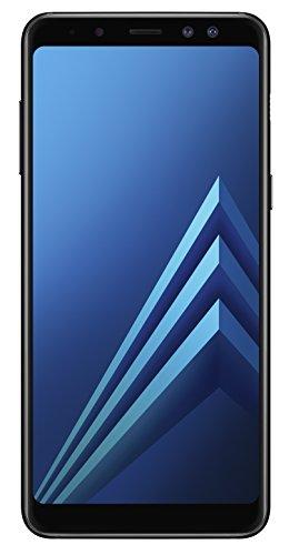 Samsung Galaxy A8 (2018) - Smartphone de 5.6' (SIM Única, 4G, memoria interna de 32 GB, RAM de 4 GB, cámara de 16 MP, Android), color negro