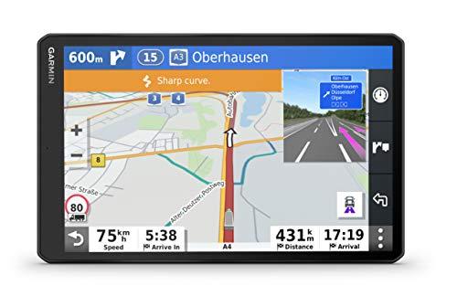 Garmin dēzl LGV 1000 MT-D EU - Navegador GPS de 10 Pulgadas para camión (Mapas Europa), Negro