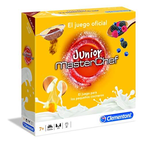 Clementoni- Masterchef Junior Juego de Mesa, Multicolor (55245)