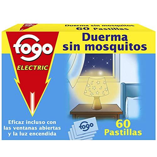 Fogo AntiMosquitos Recambios para insecticida eléctrico mata mosquitos - 60 pastillas (238818)