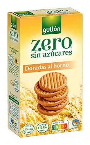 Gullón Galleta Sin Azúcar Dorada al Horno ZERO sin azúcares 330 Gramos