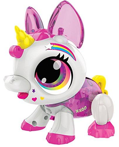 Build a Bot Juguete para Mascotas con diseño de Unicornio Activado por Sonido.