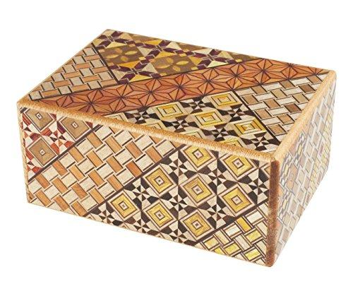 Original japonais Puzzle Boîte à secret Himitsu Bako 4voies Puzzle