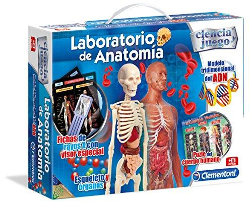 Clementoni- Laboratorio de Anatomía Juego Educativo, Multicolor (55154.5)