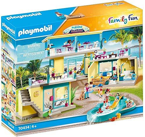 PLAYMOBIL Family Fun 70434 PLAYMO Beach Hotel, A partir de 4 años
