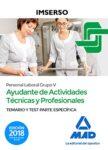 Ayudante de Actividades Técnicas Y Profesionales