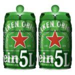 Barril Cerveza 5 Litros Mahou