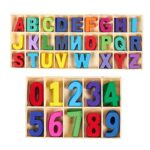 Letras de Madera Infantiles Ikea