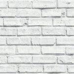 Papel Pintado Ladrillo Blanco
